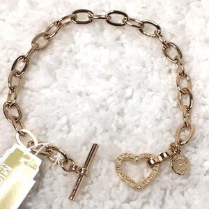 NWT - Michael Kors Rose Gold Tone Link Bracelet